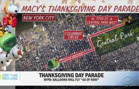 #NEWS: Strong winds could ground #Thanksgiving parade balloons