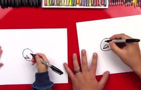 How To Draw A Cartoon #Turkey