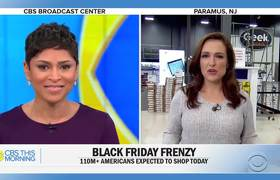 #BlackFriday shoppers save big in less chaotic scenes