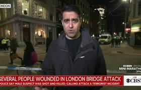 Sospechoso abatido tras ataque cerca del Puente de Londres
