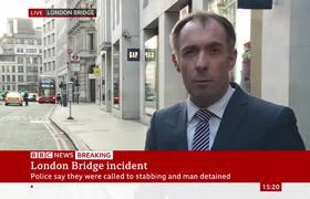 'Disparos' al sospechoso en el Puente de Londres