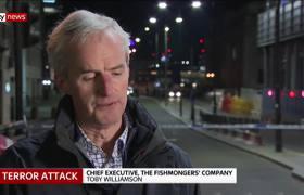 Hero with a tusk helped stop London Bridge terror attack