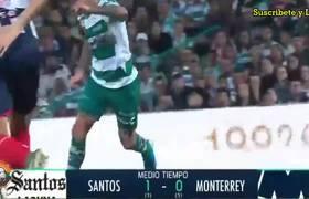 Santos vs Monterrey 1-1 Resumen y Goles   Cuartos de Final Vuelta Liga MX Apertura 2019
