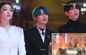 [Melon Music Awards 2019]Idols TXT Chungha Reaction to BTS Dionysus MMA 2019
