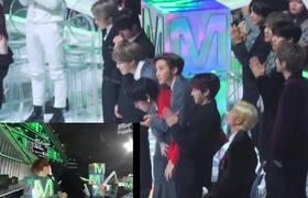 BTS REACTION KANG DANIEL WIN BEST MUSIC VIDEO (Melon Music Award 2019)