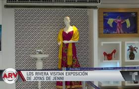 Jewelry and clothes by Jenni Rivera in Mexico museum
