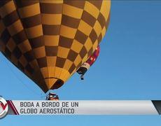 Couple marries aboard a hot air balloon at 3,000 feet