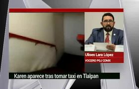 Investigación sobre el caso Karen Espíndola: Ulises Lara
