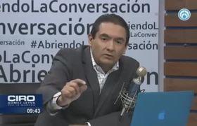 Ciro Gómez Leyva niega que #PGJCDMX le haya entregado los videos de #KarenEspíndola