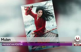 Póster oficial del live action de 'Mulan'