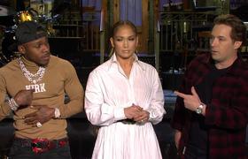 Beck Bennett Asks Jennifer Lopez and DaBaby for Music Advice #SNL