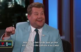 James Corden says he suffered for 'airpool' karaoke with Kanye West