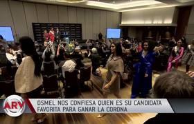 Osmel Sousa confiesa quiénes son sus favoritas para Miss Universo 2019