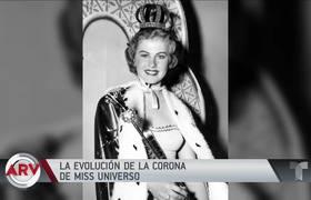 #MissUniverso2019: Evolución de la icónica corona