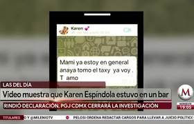 Ya fue resuelto el caso de Karen Espíndola