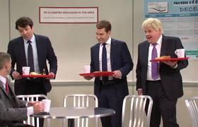 NATO Cafeteria Cold Open #SNL