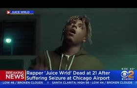 Rapper 'Juice Wrld' Dead At 21 After Suffering Seizure At Chicago Airport