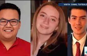 Buscan a Astrid y a dos amigos que desaparecieron en Veracruz