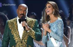 COMENTARIO RACISTA DE Steve Harvey en Miss Universo