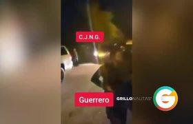 Convoy del CJNG en Guerrero