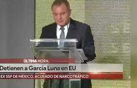 Detienen a Genaro García Luna en Estados Unidos