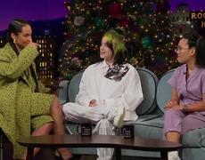 the Late Late Show: Billie Eilish Surprises Alicia Keys w/ a Home Video 'Fallin' Cover