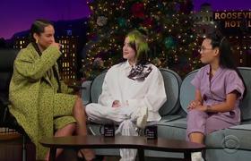 the Late Late Show: Billie Eilish Sorprende a Alicia Keys con Video haciendo Cover de 'Fallin'