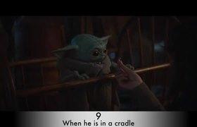 #TOP10 Baby Yoda Scenes CUTEST