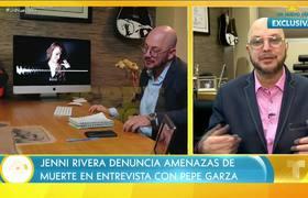 Jenni Rivera habló con Pepe Garza sobre las amenazas