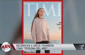 Greta Thunberg es reconocida por Time como la persona del año