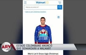 Colombia anuncia demanda contra Walmart por venta de esta producto ofensivo