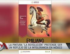 Familia de Emiliano Zapata busca demandar a artista por polémica pintura