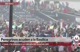 Basílica de Guadalupe amanece con 9.8 millones de peregrinos