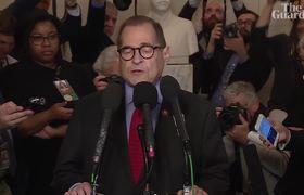 'A sad day' Jerry Nadler announces advancement on dONALD Trump articles of impeachment