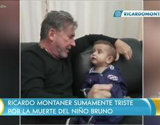 Ricardo Montaner le da su último adiós a Brunito
