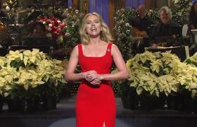 Scarlett Johansson Holiday Monologue #SNL