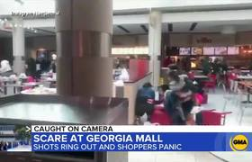 Shooting at Atlanta mall sends holiday shoppers fleeing for cover