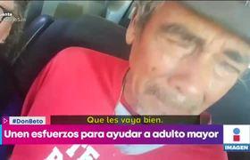 La historia de Don Beto, un viejito que fue estafado y su caso se volvió #viral