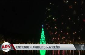 Celebrate with fireworks lit from the most famous Christmas tree in Brazil