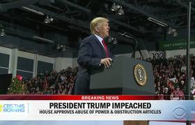 #Trump impeached in historic House vote