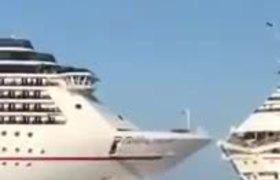 #OMG: Colisionan 2 Cruceros en Cozumel, Quintana Roo