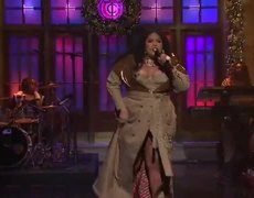 "Musical guest Lizzo performs ""Truth Hurts"" on Saturday Night Live."