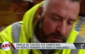 Familia de Chicago fue recibida a balazos en su visita a México