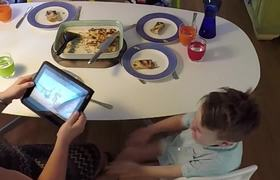 Technology has hijacked family dinnertime. Watch the DOLMIO PEPPER HACKER reclaim it.