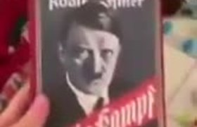 #OMG: GRANDFATHER GIVES MEIN KAMPF INSTEAD OF MINECRAFT TO HIS GRANDCHILD