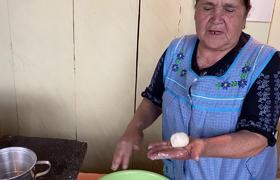 White Atole and Buñuelos - From My Ranch to you kitchen