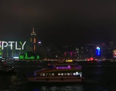 #LIVE: Hong Kong welcomes 2020 with light symphony
