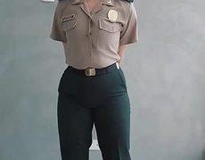 Sexy POLICE Tik Tok Challenge - Sexy Girl Jossmery Toledo - Sexy Police - #PoliciaPeruana