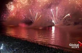 New Year's 2020: Brazil puts on nearly 15-minute spectacular fireworks show