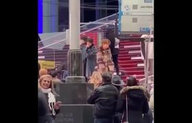 BTS rehearses @ Dick Clark's New Years Rockin' Eve 2020 Make It Right Boy With Luv NYC Times Square